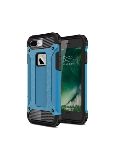 Microsonic iPhone 8 Plus Kılıf Rugged Ar  Mavi